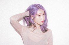 Hair Color Streaks, Hair Color Purple, Pastel Purple, Iu Hair, Kpop Hair, Aesthetic Hair, Purple Aesthetic, Hyuna, Iu Fashion