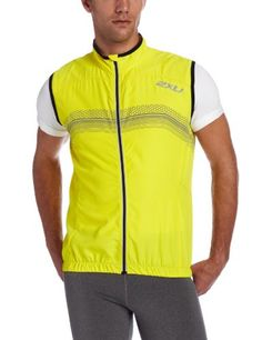 2XU Mens Micro Climate Reflector Vest Neon YellowBlack Medium *** See this great product.