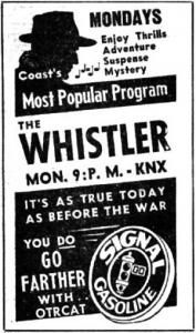 Image detail for -Whistler | Mystery | Old Time Radio Downloads