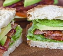 Avacado BLT one of my faves