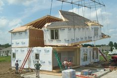 44 Best The Modular Construction Process S On Pinterest. All American Homes Prefabricated Houses Prefab Construction Process New Home Builders. Wiring. Thomas Mobile Homes Construction Diagrams At Scoala.co