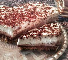 Triplacsokis mascarpone torta