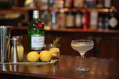 Maggiano's Handcrafted Classic Cocktail Recipe:  Aviation
