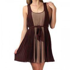 Gracia Dress Brown