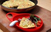 Simple Spanish potato omelette, suitable for the whole family to enjoy, suitable from 10 months