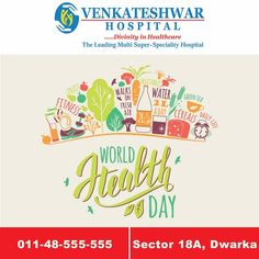 #WorldHealthDay 7 April 2017 at Venkateshwar Hospital  Come & Join Us For A Special Interactive Session with Experts.   #VenkateshwarHospital #HospitalInDwarka #HealthDay
