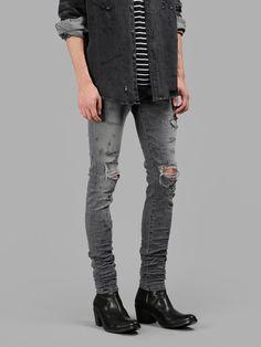 16 meilleures images du tableau Jean gris   Skinny Jeans, Male ... e7f2927c355f
