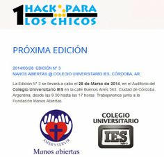 "Seguridad Informática ""A lo Jabalí ..."": 1HackParaLosChicos en Córdoba, Argentina"