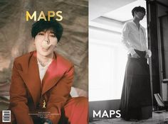 Super Junior's Yesung poses in Indonesia for 'MAPS'