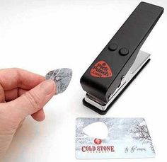 Guitar pick maker.. now you can have any design!