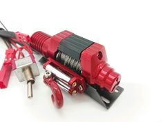 CNC made aluminum alloy winch for rc rock crawler