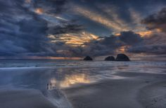 Sunset in Oceanside, Oregon by Diana Robinson on 500px