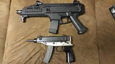 Cz scorpion 9mm and .32 auto