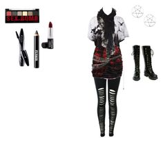 """Untitled #14"" by toxxic-venom ❤ liked on Polyvore featuring Balmain, Me & Zena, Oasis, Nana', NYX, Ardency Inn and Lancôme"