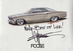 Chip Foose Drawings | Chip.FOOSE-Poster.Signed | Flickr - Photo Sharing!