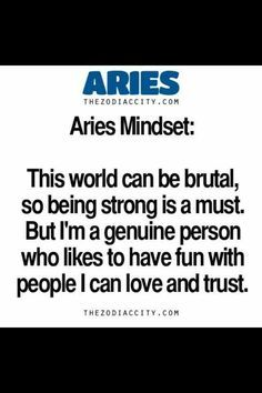 Aries on Pinterest | Aries Facts, Aries Woman and Zodiac
