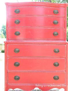 Barnyard Red Dresser