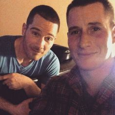 Awhhhh I Love Rick and Drew! ♡ They have to get back together ♡ Luke Macfarlane and Brendan Fehr
