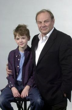 Thomas-Brodie Sangster at the Entrusted Press Conference in 2003.