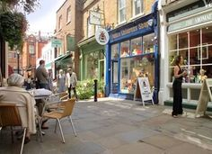 Hampstead Village, just local - great lace for an ice cream and beer. Maybe not at the same time..