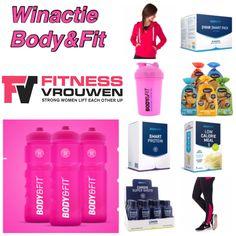 Winactie: Wij geven 2 fitnesspakketten van Body & Fit weg.  Een pakket vol met kleding en supplementen. Meer info? Klik op de link en bekijk dit mooie prijzenpakket! . #fitnessvrouwenwinactie