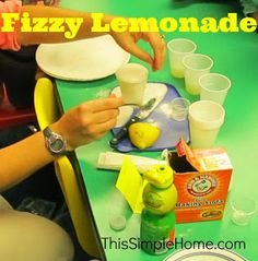 Lemon Science Experiments.  Use these science experiments to introduce some fun concepts for children as young as preschoolers or for middle schooler to complete on their own!