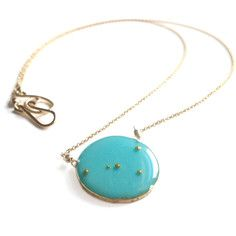 Cancer Necklace Turquoise, $95, now featured on Fab.