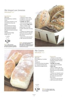 Revista bimby janeiro 2009 so receitas Gluten Free Recipes, Bread Recipes, Healthy Recipes, Easy Cooking, Cooking Tips, Pain Pizza, My Kitchen Rules, Food C, Happy Foods