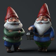ArtStation - Gnomes - Goldfish Commercial Season 6, Daniel Garcia