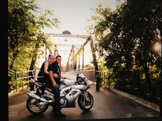 Awesome motorcycle engagement photo session from Griffith Photography in Cibolo, TX. www.griffithphotography.zenfolio.com  www.facebook.com/rd.griffithphotography
