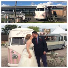 Florence my beautiful VW camper ice cream van ~ available for wedding hire http://www.pollys-parlour.co.uk