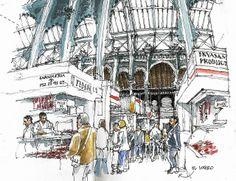 Málaga, main market | Flickr: Intercambio de fotos