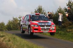 Wilks flying high in the Isle of Man Rally 2008