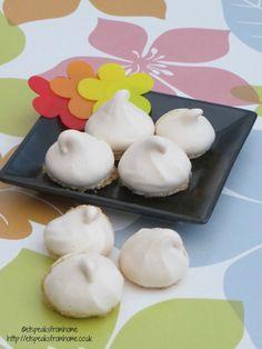 Almond Meringue Cookies - ET Speaks From Home
