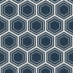 Honeycomb navy fabric...possible upholstry fabric for my new chair