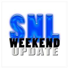 SNL Weekend Update Poster