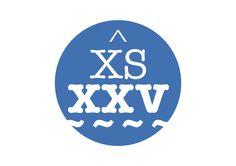 Logo 25è aniversari Xiquets del Serrallo. De Joan Pau Casado.