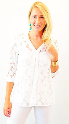 TILLY TUNIC - WHITE LACE