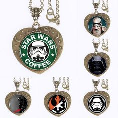 Find More Torques Information about 10pcs Star Wars Heartshaped Bronze Plated Pendant Necklace Star Wars Art  Choker Statement Necklace For Women Men  2,High Quality statement necklace,China necklaces for women Suppliers, Cheap pendant necklace from DreamFire Store on Aliexpress.com