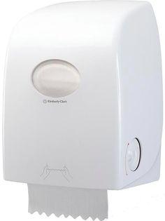 White Tork Centrefeed Dispenser M2 Starter Pack Unit and Paper Towel Dispenser Wall Mounted Elevation Design