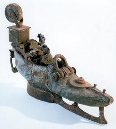 Gerard Cambon родился в Тулузе (Франция) в 1960 году. В своих работах он объединяет такие материалы как металл и глина.