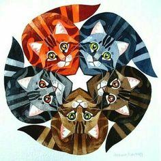 cat pinwheel