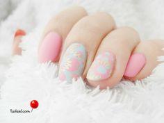 2016 Pantone Colors Rose Quartz-Serenity nail art design - manichiura cu oja roz si bleu Nail Art Designs, Pantone Color, Rose Quartz, Serenity, Art Ideas, Nails, Beauty, Blue, Finger Nails