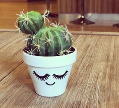 Copy one of these ideas to dress up those plain pots of yours!
