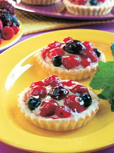 Tarteleta frutos rojos busca las instrucciones en www.eviadigital.com