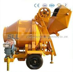 Electric concrete mixer from Sincola