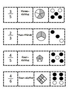 fraction match up.pdf