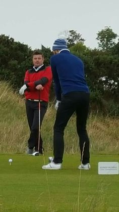 Jamie Dornan at Dunhill Links Golf Tournament 7th Oct 2016