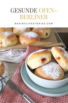Ofenberliner - the healthier carnival donuts - Bakinglifestories… gesund backen - Authentic Mexican Recipes, Mexican Food Recipes, Pizza Recipes, Baking Recipes, Cookie Recipes, Dessert Recipes, Healthy Chicken Recipes, Crockpot Recipes, Homemade Burgers