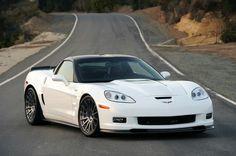 C6 Corvette White 3